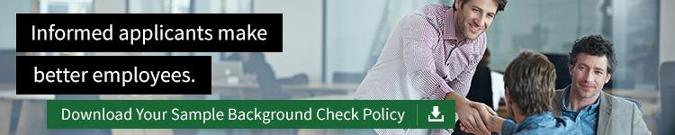 Your New Hire Failed their Background Check  Now What?