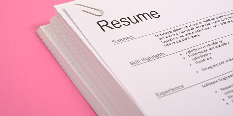 5 Reasons Why an Updated Resume is Important to Recruiters